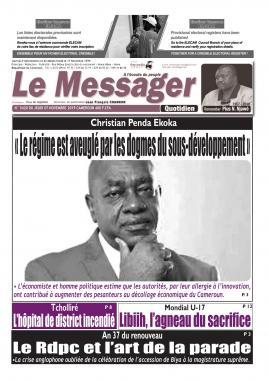 Le Messager - 07/11/2019