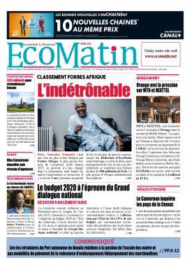 Ecomatin - 11/11/2019