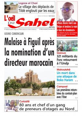 L'oeil du Sahel - 15/11/2019