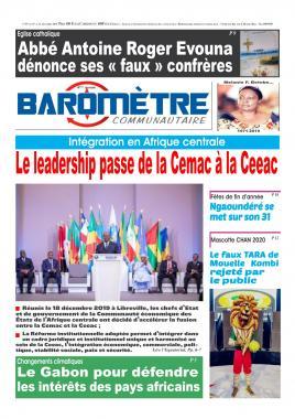 Baromètre - 19/12/2019