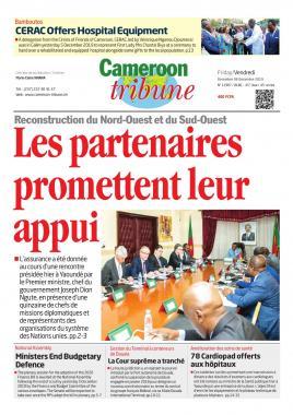 Cameroon Tribune - 06/12/2019