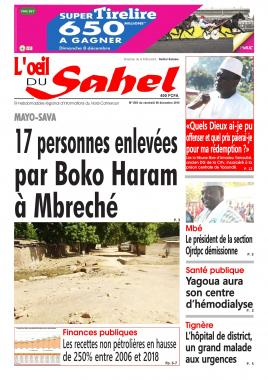 L'oeil du Sahel - 06/12/2019