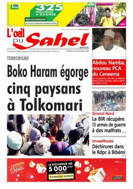 L'oeil du Sahel - 09/12/2019