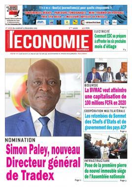 Le Quotidien de l'Economie - 13/12/2019