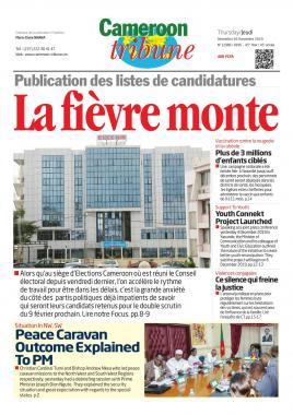 Cameroon Tribune - 05/12/2019