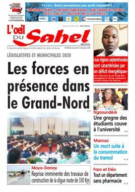 L'oeil du Sahel - 11/12/2019