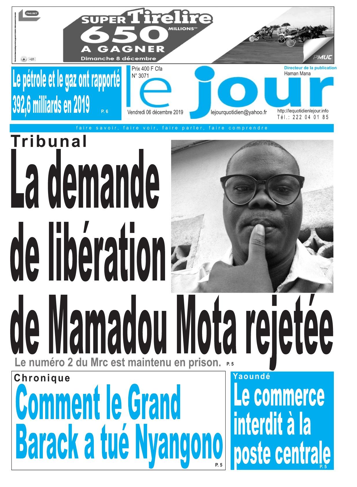 Le Jour - 06/12/2019