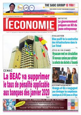 Le Quotidien de l'Economie - 19/12/2019