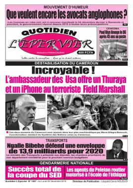 L'Epervier - 09/12/2019
