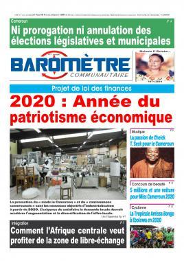 Baromètre - 05/12/2019