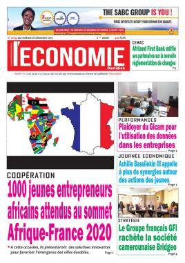 Le Quotidien de l'Economie - 06/12/2019