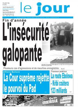 Le Jour - 05/12/2019
