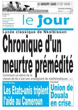 Le Jour - 15/01/2020