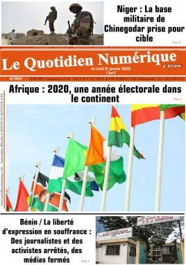 QUOTIDIEN NUMERIQUE DAFRIQUE - 13/01/2020