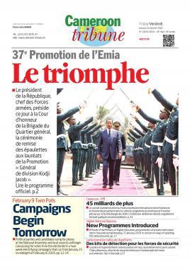 Cameroon Tribune - 24/01/2020