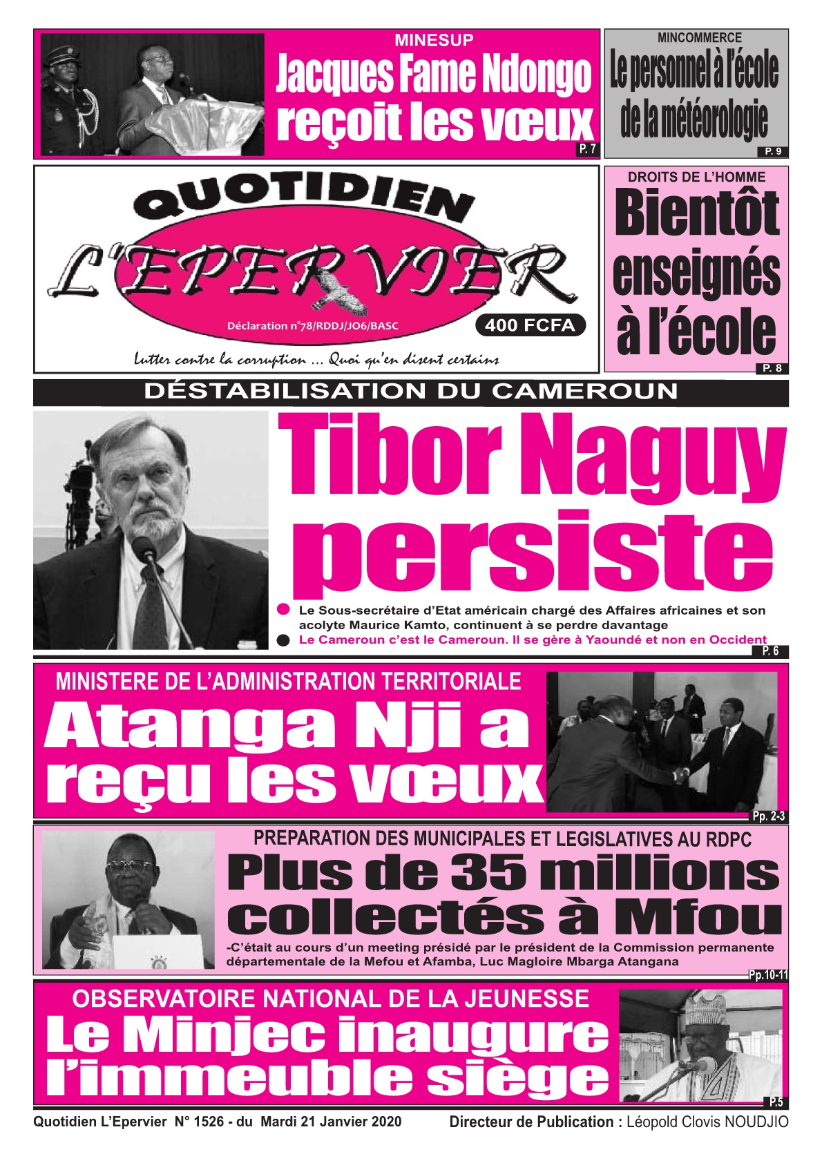 L'Epervier - 21/01/2020