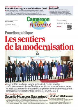 Cameroon Tribune - 14/01/2020