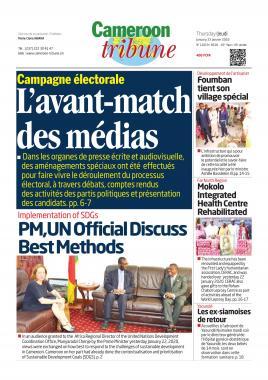 Cameroon Tribune - 23/01/2020