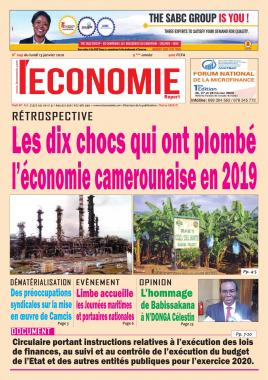 Le Quotidien de l'Economie - 13/01/2020