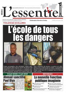 L'essentiel du Cameroun - 20/01/2020