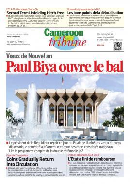 Cameroon Tribune - 09/01/2020