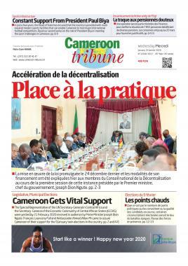 Cameroon Tribune - 22/01/2020