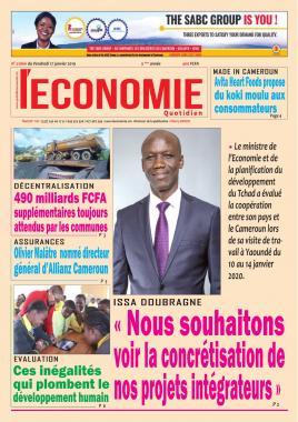 Le Quotidien de l'Economie - 17/01/2020
