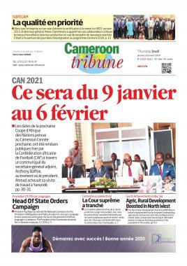 Cameroon Tribune - 16/01/2020