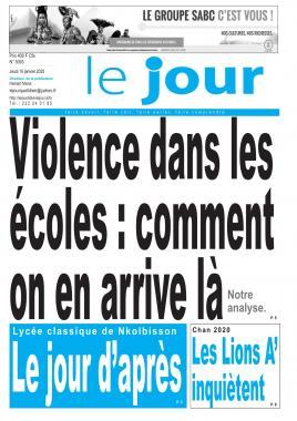 Le Jour - 16/01/2020