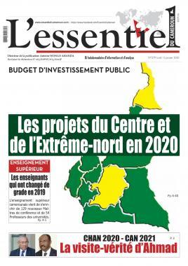 L'essentiel du Cameroun - 13/01/2020