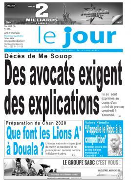 Le Jour - 20/01/2020
