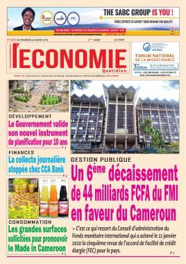 Le Quotidien de l'Economie - 24/01/2020