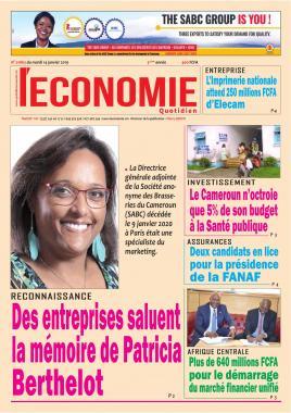 Le Quotidien de l'Economie - 14/01/2020