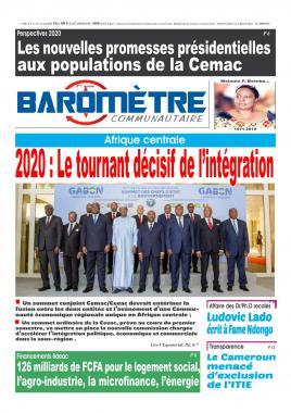 Baromètre - 09/01/2020