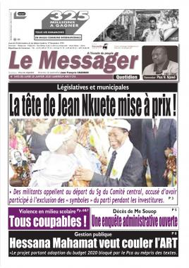 Le Messager - 20/01/2020