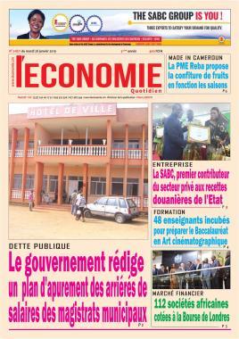 Le Quotidien de l'Economie - 28/01/2020