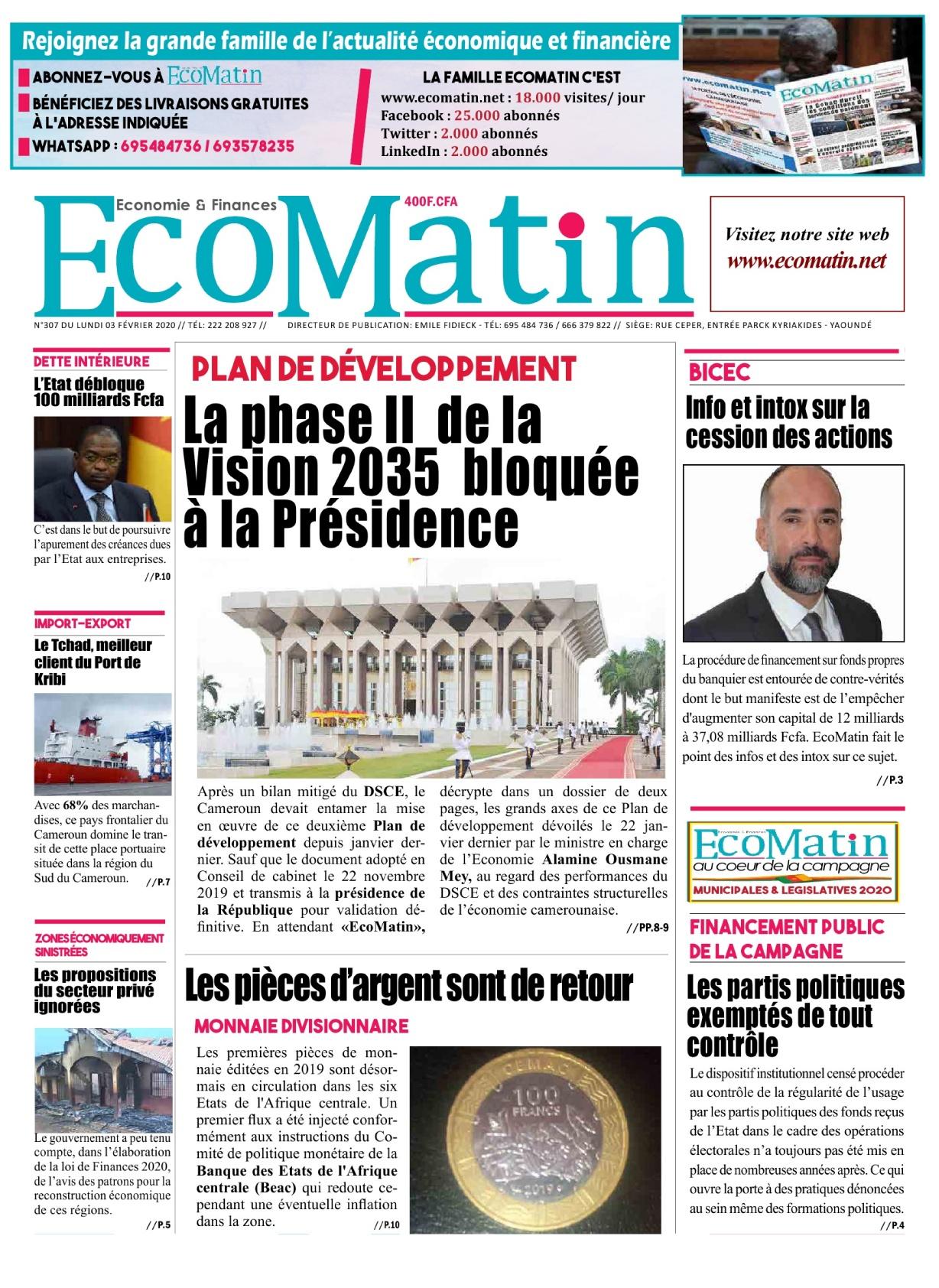 Ecomatin - 13/02/2020