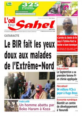 L'oeil du Sahel - 19/02/2020