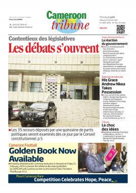 Cameroon Tribune - 24/02/2020
