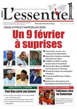 L'essentiel du Cameroun - 12/02/2020