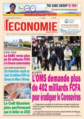 Le Quotidien de l'Economie - 07/02/2020