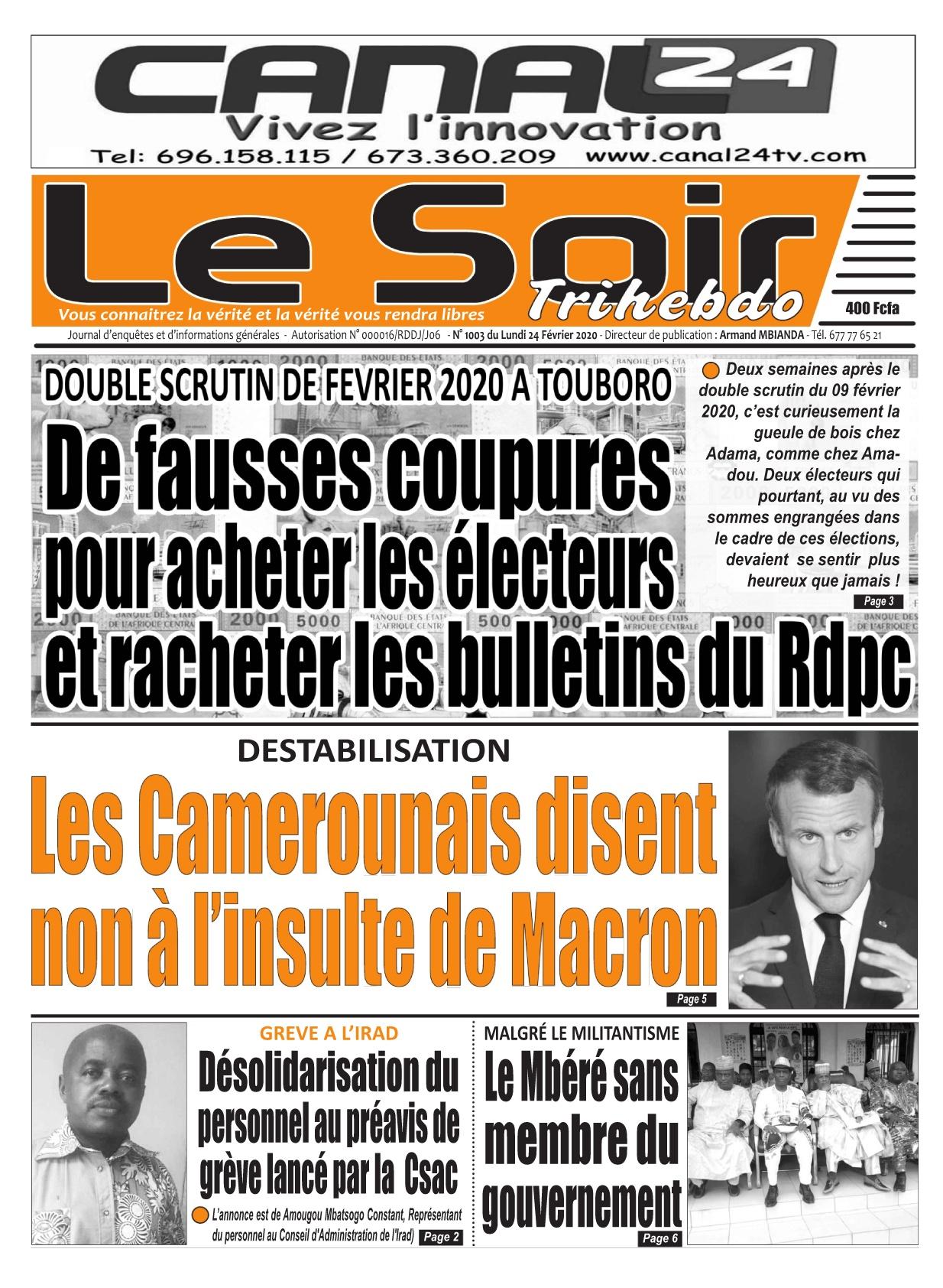 Le Soir - 24/02/2020