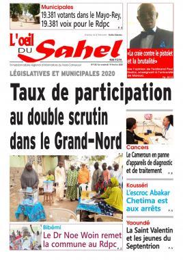 L'oeil du Sahel - 14/02/2020