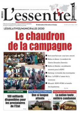 L'essentiel du Cameroun - 03/02/2020