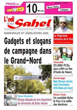 L'oeil du Sahel - 05/02/2020