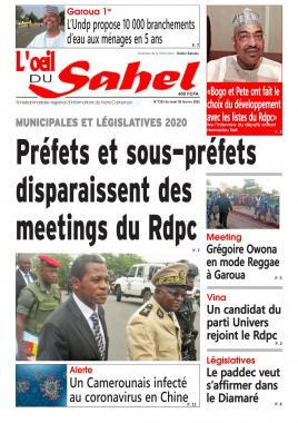 L'oeil du Sahel - 03/02/2020