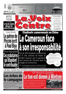 LA VOIX DU CENTRE - 03/02/2020