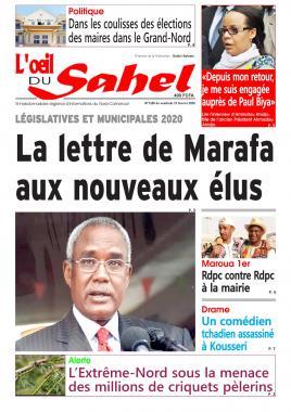 L'oeil du Sahel - 21/02/2020