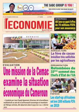 Le Quotidien de l'Economie - 13/02/2020