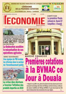 Le Quotidien de l'Economie - 21/02/2020